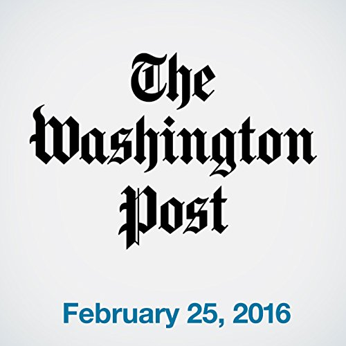 Top Stories Daily from The Washington Post, February 25, 2016 copertina