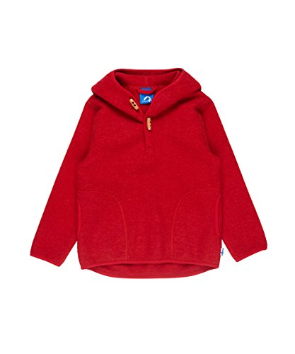 Finkid Jussi Wool, 120/130 Kinder, red Melange
