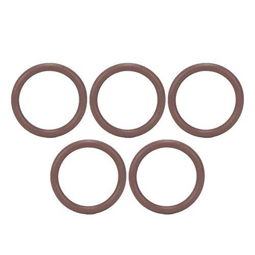 MAGT O-Ring des Tauchzylinderventils, 5PCS FKM Tauchventil O Dichtring Brauner Unterwasser-Zylinderventileinsteller(18.72 * 2.62)