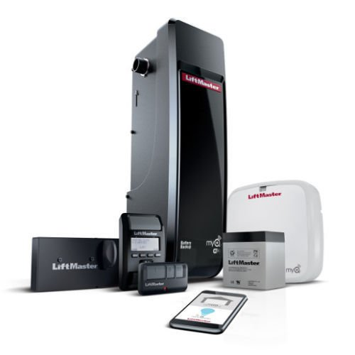 Best Buy! Liftmaster 8500W Jackshaft Garage Opener MyQ enabled wifi and battery installed