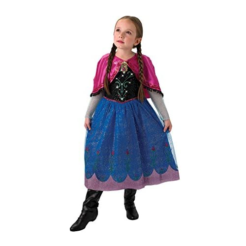 Rubie' s Costume Ufficiale Disney Frozen Musical And Light up Anna per Bambini–Grande