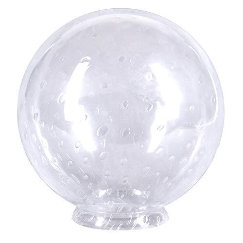 Bola de cristal con cuello de 250 mm de diámetro, cristal de repuesto redondo