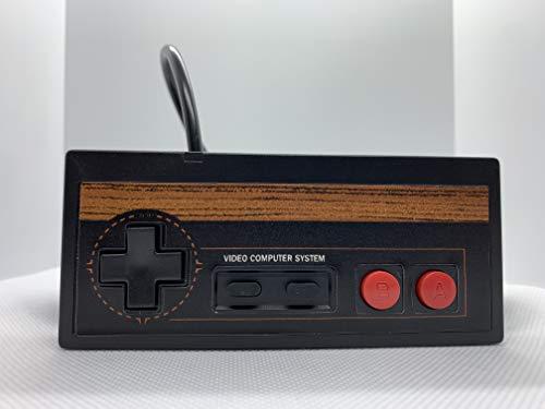 Atari 7800 2600 Joysitck Controller Control Pad Commodore 64 Wood Grain
