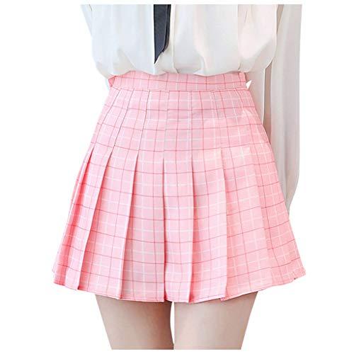 Joyionier Young Girl Skirt Button Front Midi Skirt Summer Skirts Tulle Skirt Amazon Pink Skirts