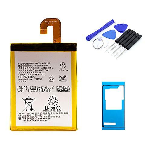 kaputt.de AKKU Set Batterie für Sony Xperia Z3 | 3100 mAh | 3,8 V | LIS1558ERPC | Reparaturset