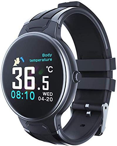 Seguimiento de la salud reloj inteligente impermeable multifuncional pulsera inteligente hombres y mujeres reloj deportivo