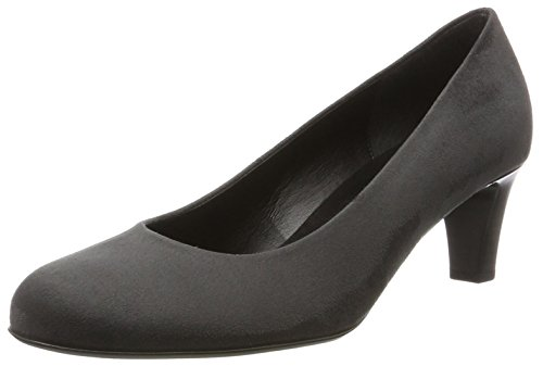 Gabor Shoes Damen Basic Pumps, Grau (39 Anthrazit), 37.5 EU