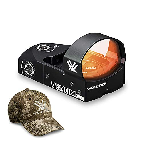 Vortex Optics Venom Red Dot Sight - 3 MOA Dot Hat