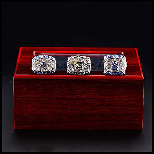 YF Ring Mode Juwelen Vrijmetselaar Kampioenschap Ring Creatieve Ring Sieraden 13 Drie