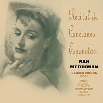 Recital de Canciones Españolas