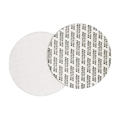 100 Stück Durchmesser 3,6 cm Schaumstoff-Kleber, wasserdichte Dichtung, Sicherheit manipulationssichere Dichtung, druckempfindliche Dichtung, manipulationssichere Dichtungen, Flaschendeckelauskleidung