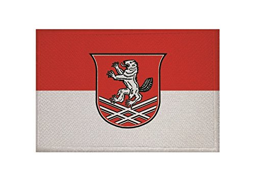 U24 Aufnäher Bebra Fahne Flagge Aufbügler Patch 9 x 6 cm