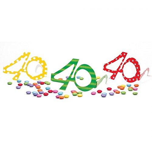 Givi Italia- Gafas de papel de 40 años, Multicolor 50117 , color/modelo surtido