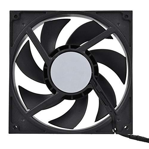 Bewinner laptopventilator 500-2000 tpm industriële computerventilator computerkoeler koeler, groot luchtvolume en snelle warmteafvoer beschermen CPU tegen oververhitting (zwart)