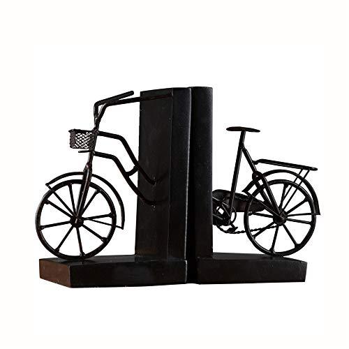 DQM boekensteunen voor fiets, van kunsthars, retro-stijl, boekensteun voor fiets, geschikt voor kantoor, in de studio, woonkamer, stabiele structuur,