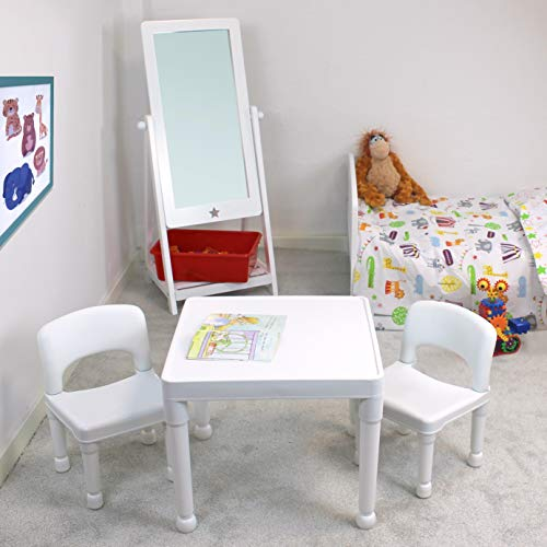 Liberty House Toys Children's Plastic Table and Chairs Set. Juego de Mesa...