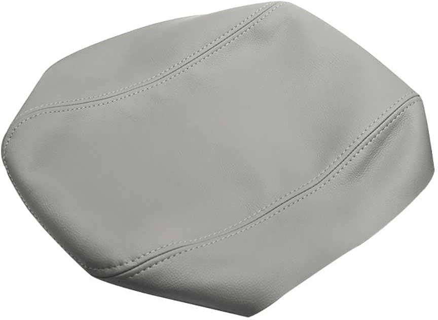 MPOQZI Gray Center Armrest Leather Cover Tulsa Mall Fit 200 Mesa Mall ES350 for Lexus