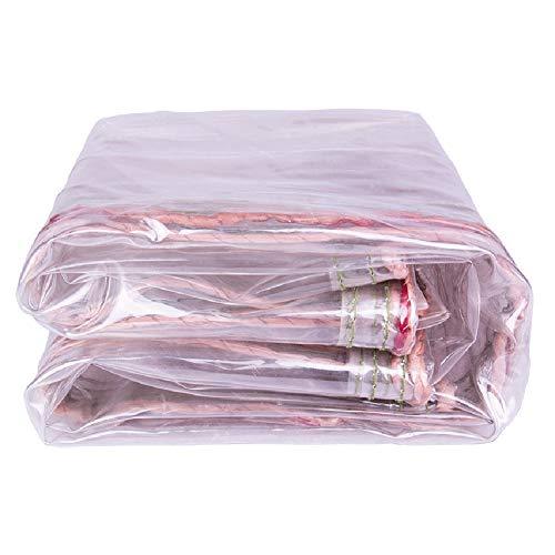 QIANGDA Bâche De Protection Paillage PVC Tissu Imperméable Résistant Aux Déchirures De Plein Air Imperméable Haute Transparence, 11 Tailles (Taille : 2x3m)