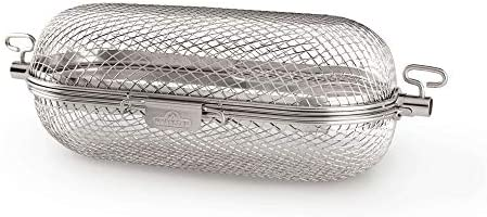 Napoleon 64000 Rotisserie Basket Grill Accessory Stainless Steel product image