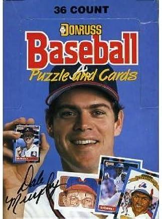 Amazoncom 1988 Donruss Mlb Baseball Original Unopened Vintage