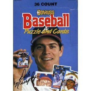 1988 Donruss MLB Baseball Original Unopened Vintage Hobby Wax Box! Includes 36 Factory Sealed Packs and 15 Cards Per Pack ! A Total of 540 Cards ! Look for Rookie Cards of Tom Glavine, Roberto Alomar,Mark Grace and More! Also Look for Superstars and Hall of Famers including Cal Ripken,Nolan Ryan,Barry Bonds,Mark McGwire,Ozzie Smith,Ryne Sandberg, G...