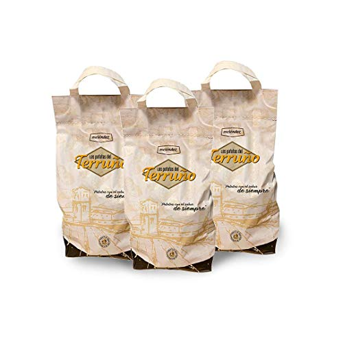 Las Patatas del Terruño 9Kg | 3 mallas de 3Kg | ESPECIALES para FREIR