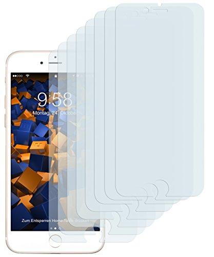 mumbi Schutzfolie kompatibel mit iPhone SE 2 2020 Folie, iPhone 7 Folie, iPhone 8 Folie klar, Bildschirmschutzfolie (8X)