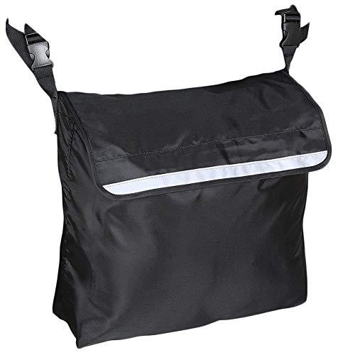 Rollstuhltasche, Rollstuhl Tasche Rucksack, Rollstuhlseitentasche, Wasserdicht, Große Kapazitätre, Flektierendes Streifendesign, Aufbewahrungstasche Rollstuhltasche Für Manuelle, Elektrorollstuhl