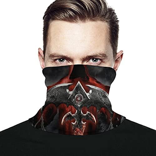 best & Queensryche The Verdict x Gesichtsmaske für Damen, staubdicht, winddicht und UV-Schutz