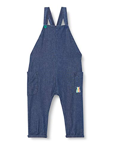 United Colors of Benetton 4DHJ584NE Overol, Azul 901, 74 cm para Bebés