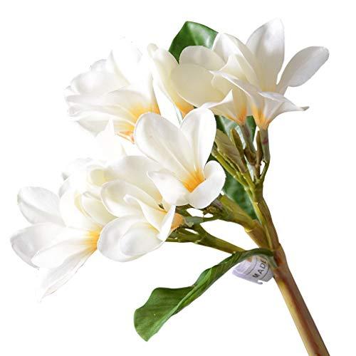 WXL Gefälschte Blume Simulation Blume Plumeria Wohnzimmer Tisch Couchtisch Blumenschmuck Gefälschte Blume Dekoration Innenhaus Blume