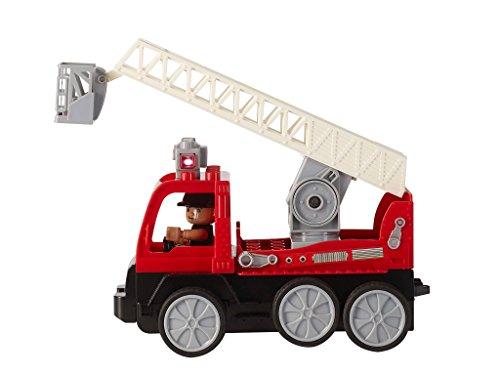 RC Auto kaufen Feuerwehr Bild 5: Revell Control Junior RC Car Feuerwehr - ferngesteuertes Feuerwehr Auto mit 40 MHz Fernsteuerung, kindgerechte Gestaltung, ab 3, mit Teilen und Figur Zum Bauen und Spielen, LED-Blinklichtern - 23001*