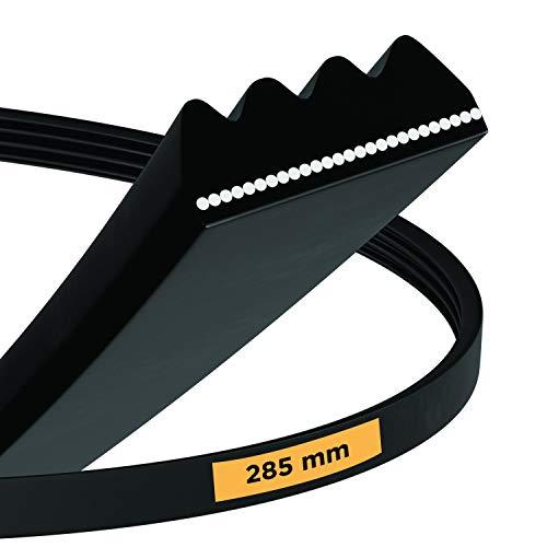 Correa trapezoidal 285 PH4E de repuesto para Beko Blomberg 491500303, correa de transmisión acanalada, apta para secadora