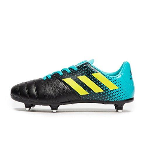 adidas All Blacks (sg), Unisex Rugby Shoes, Blue (Hiraqu/Shoyel/Cblack Hiraqu/Shoyel/Cblack), 10k UK (28 EU)