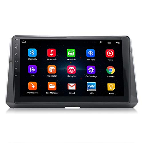 Sistema de navegación Sat Nav GPS, actualizaciones en Vivo de la cámara de tráfico y Velocidad a través de WiFi, Adecuado para Toyota Corolla Leyland