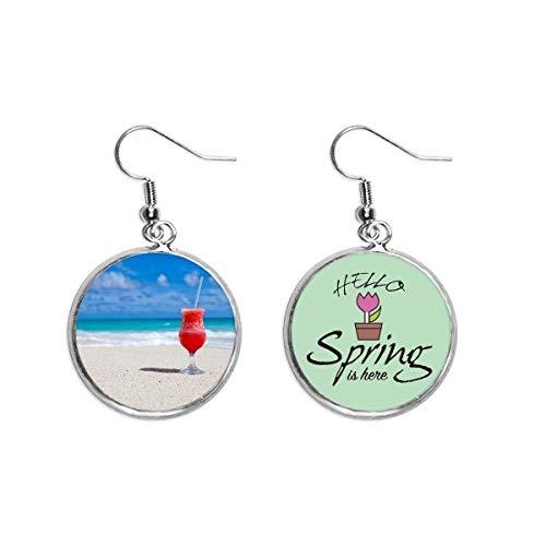 Ocean Sand Beach - Juego de decoración de zumo de sandía