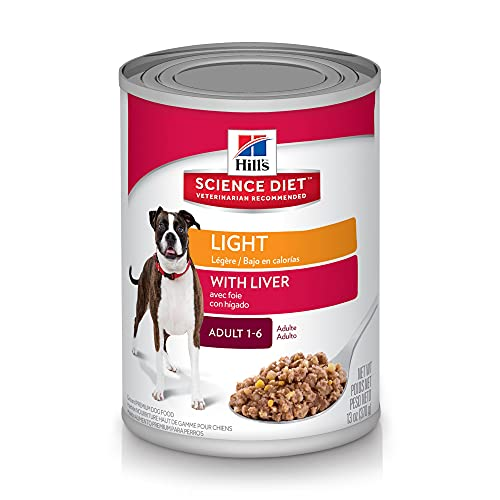 Hill's Science Diet Dog Food, Adult, Light for Healthy Weight & Weight Management