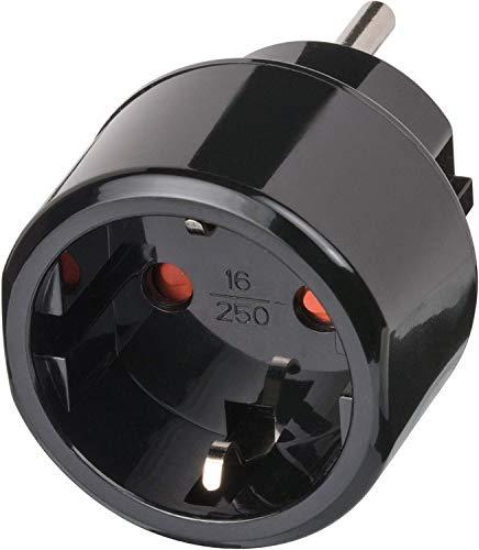 Brennenstuhl 1508550 Regleta, 125 V, Negro, 1 Stück
