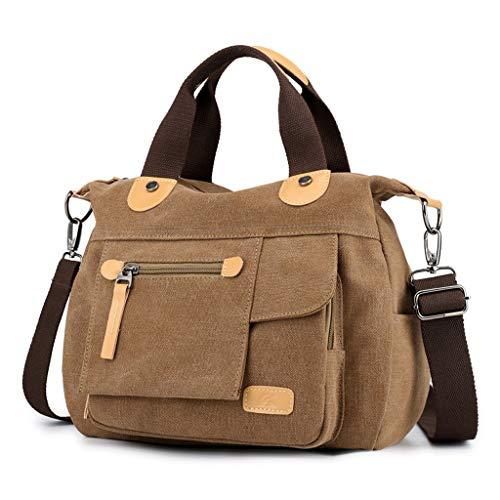 FOANA Shopper Einkaufsshopper Einkaufstasche Umhängetasche zum Einkaufen/Sport/Freizeit