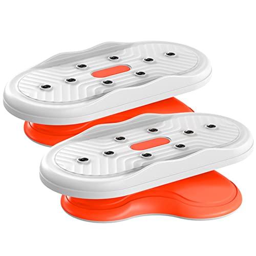 NASTON Twisters de núcleo Compacto para Gimnasio en casa, Equipo portátil de Ejercicios para Abdominales, Masaje Adelgazante,Blanco,21 * 29.5CM