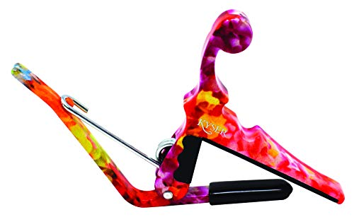 Kyser Quick-Change Capo for ukuleles, Hawaiian Lei, KULEA
