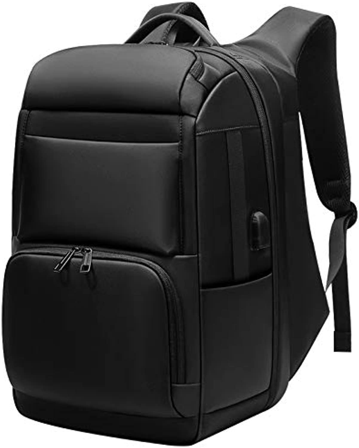 b6723c869 Men's Travel Backpack Large Capacity Junior Men's Backpack AntiTheft Pack  USB Charging Laptop Backpack Waterproof