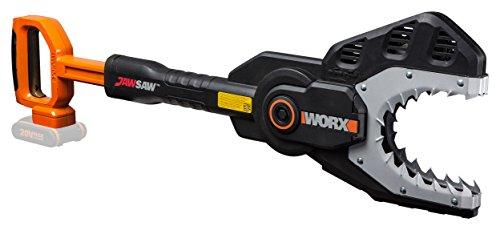 WORX WG329E.9 Kettensäge Jawsaw für sicheres Sägen von Ästen - auf dem Boden oder hoch gelegen – Astsäge mit umschlossener Kette, Stahlzähnen & Kettenschutz – ohne Akku & Ladegerät