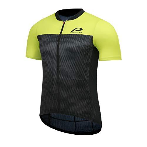 Protective P-Transform Kurzarm Trikot Herren schwarz/gelb Größe XL 2021 Radtrikot kurzärmlig