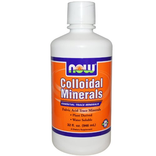 NOW Foods Colloidal Minerals - 32 fl oz
