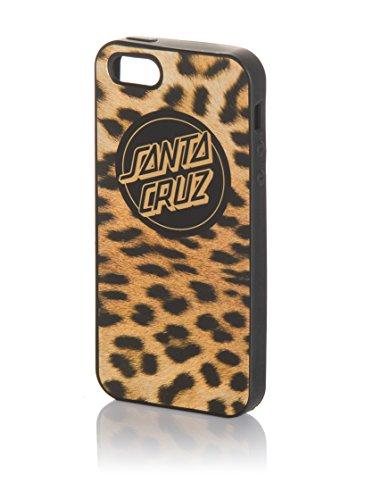 Santa Cruz Custodia Iphone 5/5S Leopardskin Nero/Beige Unica
