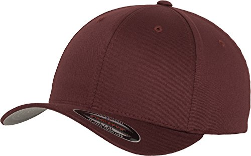 Flexfit - Cappellino Wooly Combed Marrone