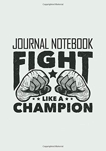 Conor McGregor Notebook Fight Like A Champion: Great Journal for School or as a Diary, Lined With More than 120 Pages 7x10 inches. Notebook that can ... Apologize Nobody Conor McGregor Notebook