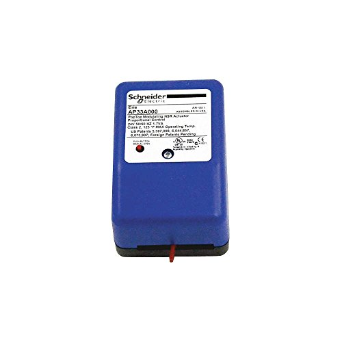Schneider Electric AP33A000 Tac Erie Non-Spring Return Floating and Proportional Actuator, 65 Ma Maximum Current, 24V