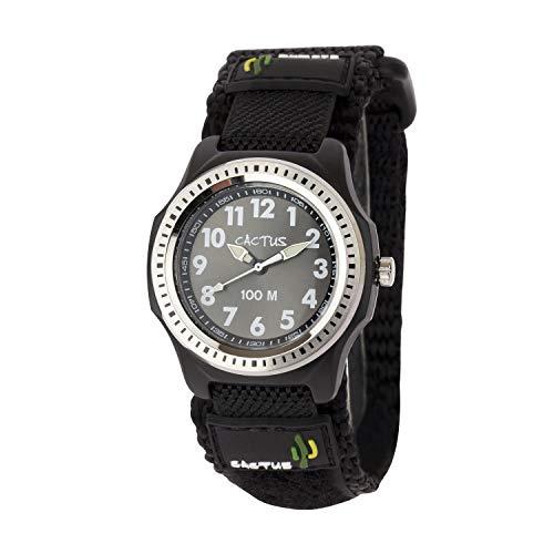 [カクタス] キッズ腕時計 10気圧防水 CAC-45-M01 ボーイズ 正規輸入品 ブラック